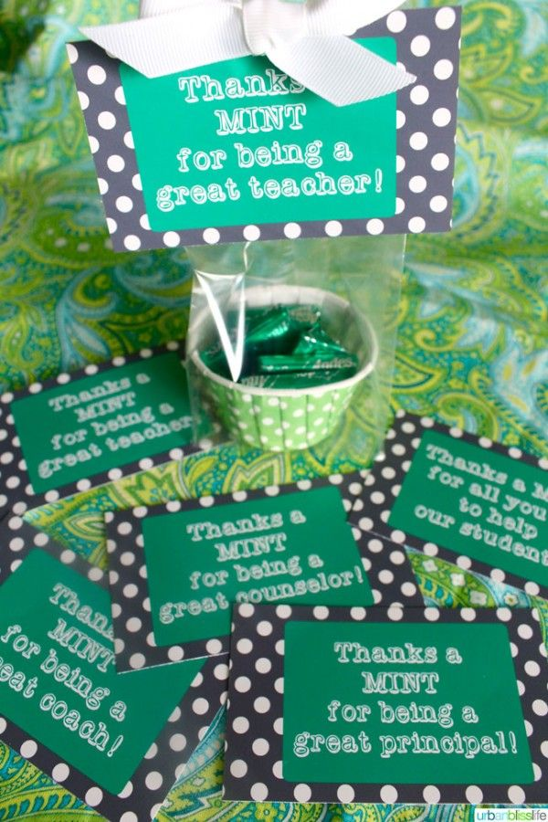 Free Teacher Appreciation Week Printable | Find easy teacher gift ideas on TodaysCreativeblog.net