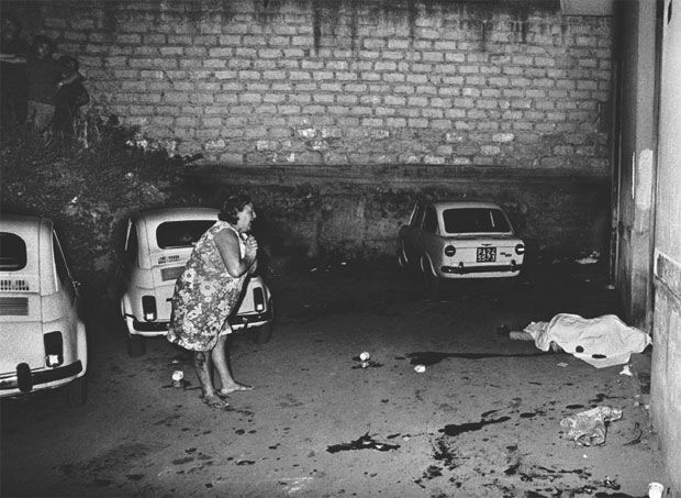 Letizia Battaglia - Cosa Nostra hit