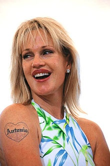 Melanie Griffith, yep, another one with plastic surgery.