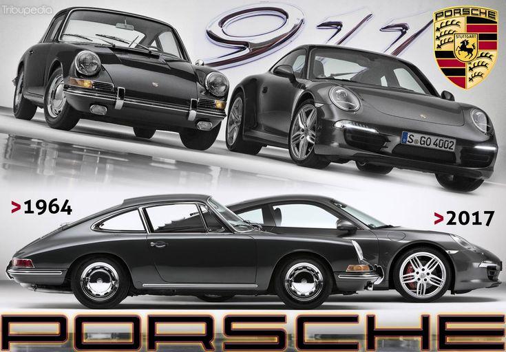 Porsche 911 - Through the Years – Free Online Memorials - History Tributes - Tribupedia