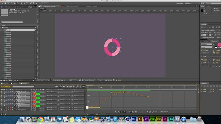 After Effects Tutorial: Animated Font by Acrez   Learn how to animate a font in this Adobe After Effects tutorial.   http://www.youtube.com/watch?v=9Xf0UiUux6Y&feature=c4-overview&list=UUXzvbHPef3MmC-fXOWj5OkA  http://www.acrezeffects.co.uk