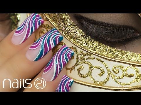 Nail Art Veneza - Nails 21