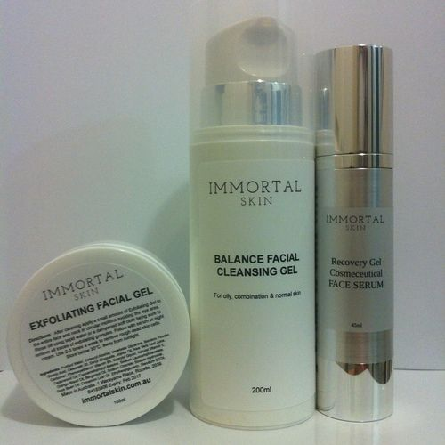 PLATINUM COLLECTION - Oily Skin 3-step Set