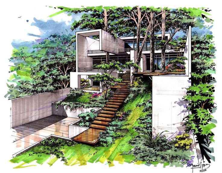 House Sketches 83 best house sketches images on pinterest | architecture, house
