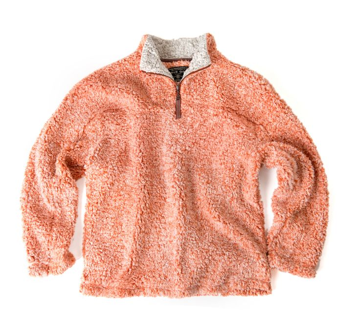 True Grit - Frosty Tipped Pile Zip Pullover