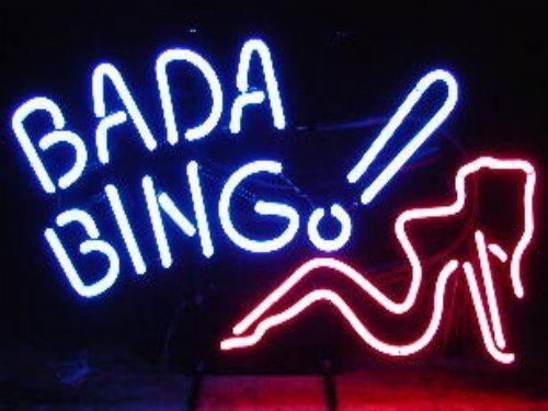 Everybody's favorite club. Bada Bing!