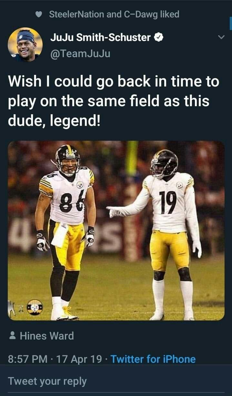 Juju Twitter Post Memes Sports Memes Steeler Nation
