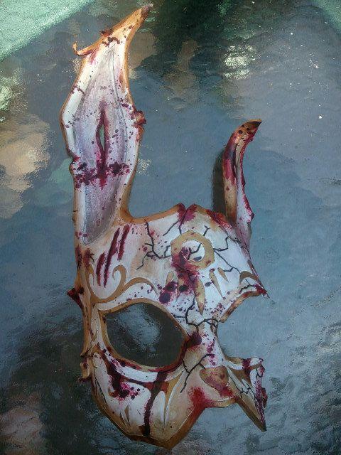 BioShock Splicer Rabbit Mask via Etsy by Skinznhydez