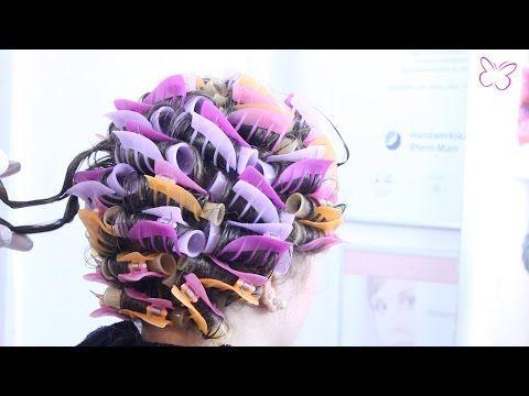 How to: Volumenwelle/ leichte Dauerwelle/ Headlines, vorher-nachher   beautybrownii - YouTube