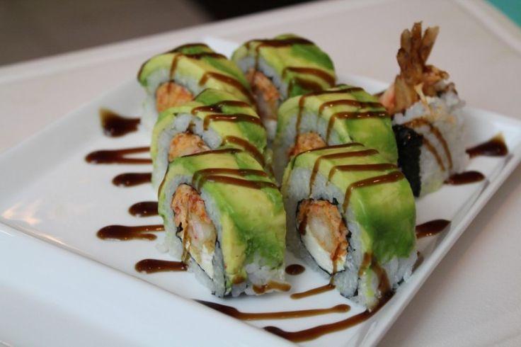 American Dream Sushi Roll Recipe. Drooling!!