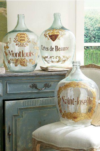 Vintage Wine Bottles - French Wine Bottles