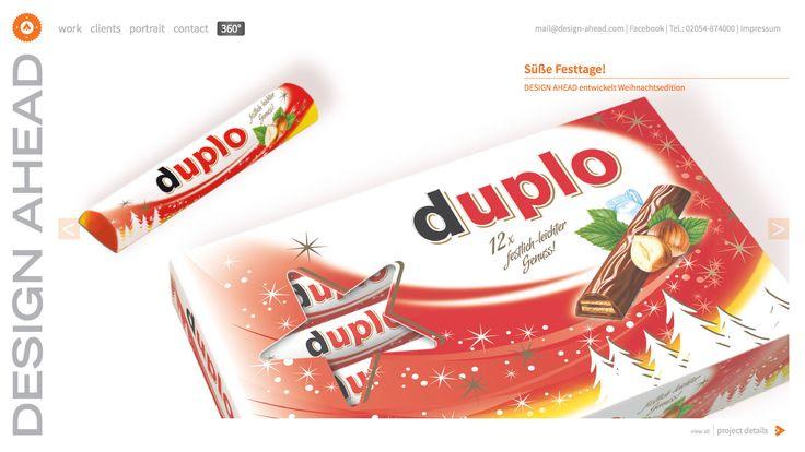 Packaging Design Duplo Weihnachts-Edition