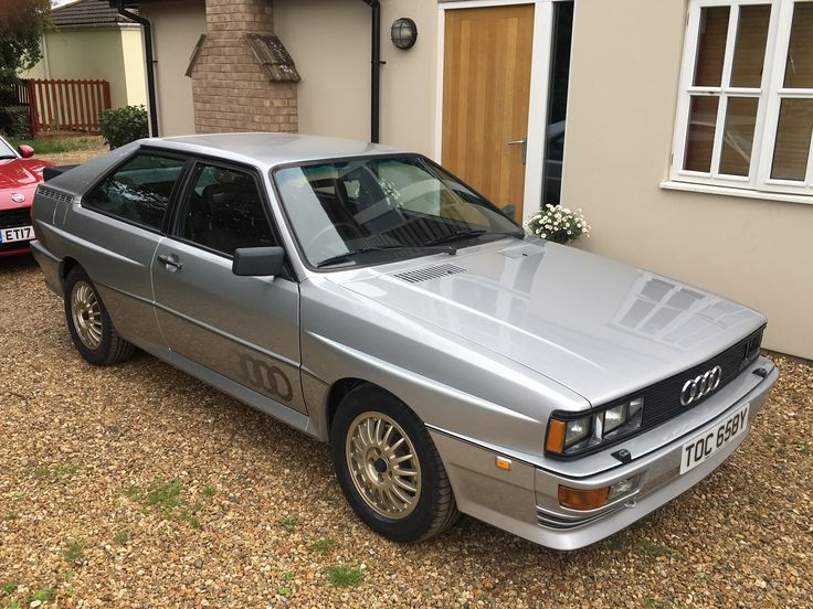 audi quattro 39 82 pre production rhd car in diamond silver first time back on the road in 20. Black Bedroom Furniture Sets. Home Design Ideas