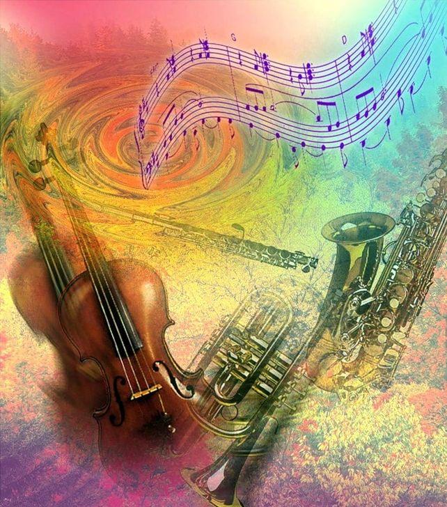 Дизайн, открытки музыкальные послушать
