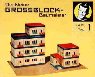 Building toys from DDR /// 1950/1970 / Kari Baukästen