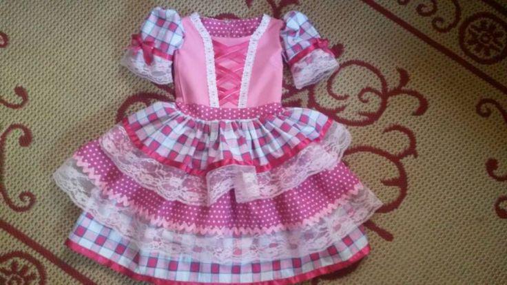 vestido de quadrilha bonito