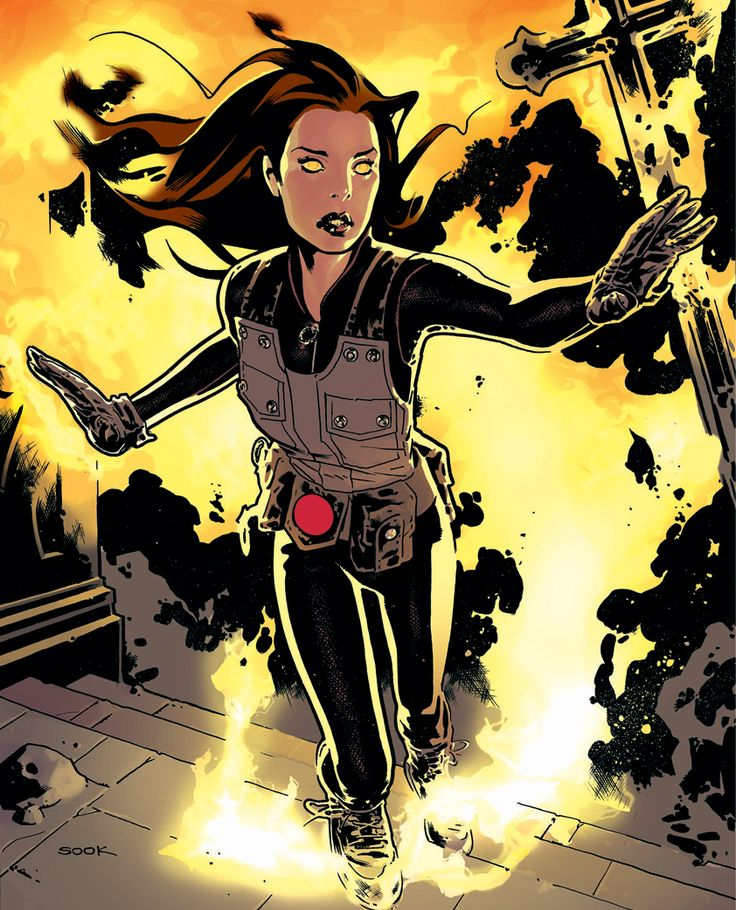 Liz Sherman by Ryan Sook