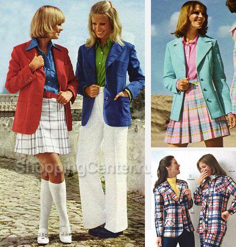 Одежда 70-х годов, блейзеры, фото | Мешковатая одежда ...