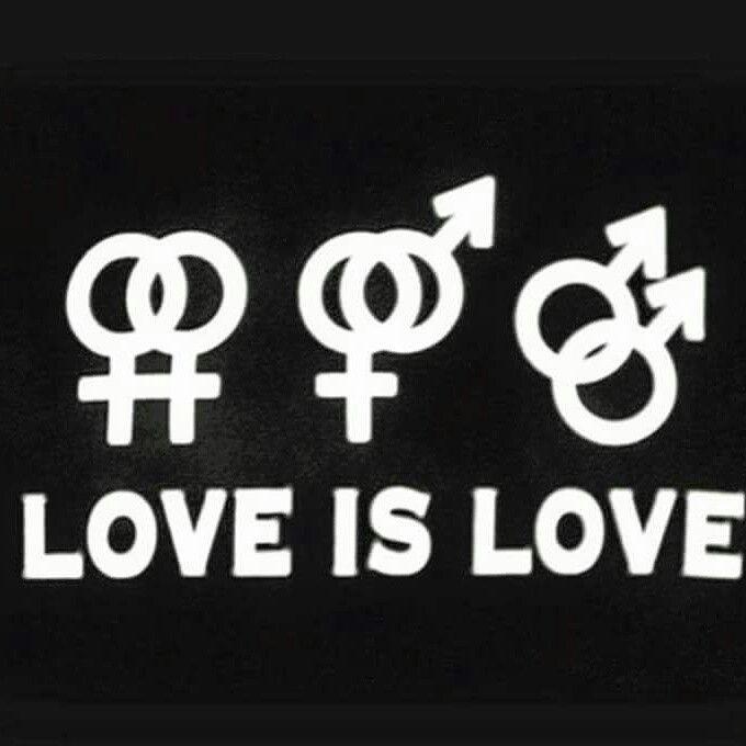 TUTTI DEVONO ESSRE LIBERI DI VIVERE LA LORO VITA E DI NON ESSERE DESRCIMINATI PER LE LORO SCELTE. #lovewins