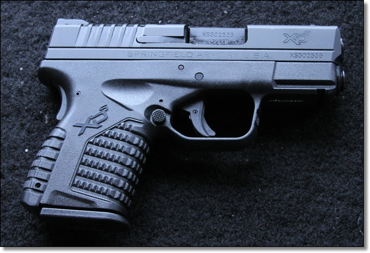 Springfield Armory XD-S .45ACP Micro-Pistol – This will be my next purchase!!