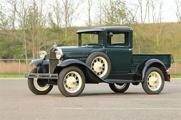 1931 FORD MODEL A PICKUP  Things with engines  Pinterest  Ford