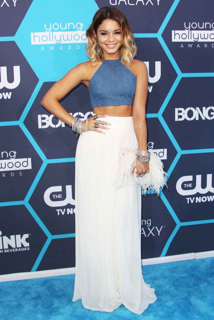 Vanessa Hudgens' style: Reason #123 I need to get my abs back in shape.