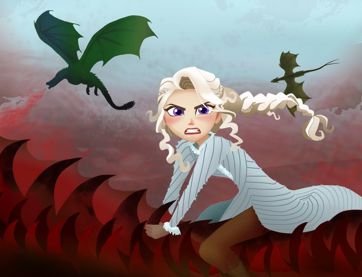 Mother of Dragons by AomeKatze on DeviantArt