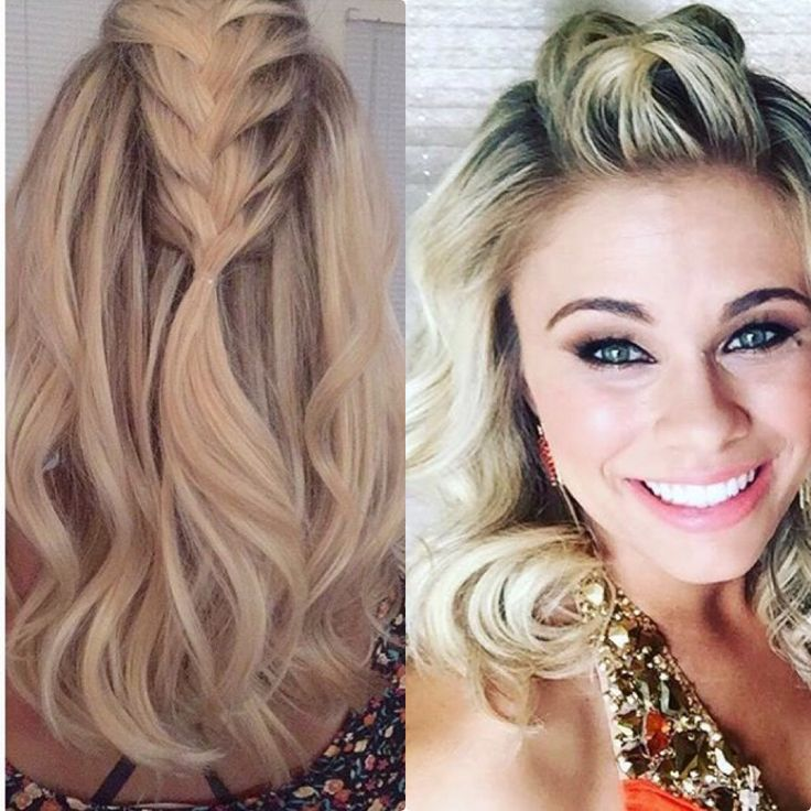 Love this hairstyle! Paige VanZant.