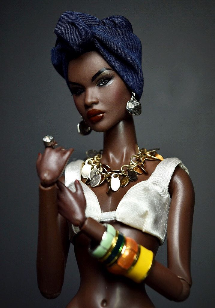 Top Model: Ajak Deng by Ponne PP #integrity #integritytoys #fashionroyalty black doll