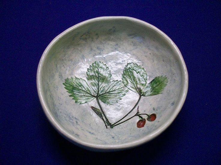 Salt Marsh Pottery So. Dartmouth, MA,  Dish or Hanging Plaque R6T1