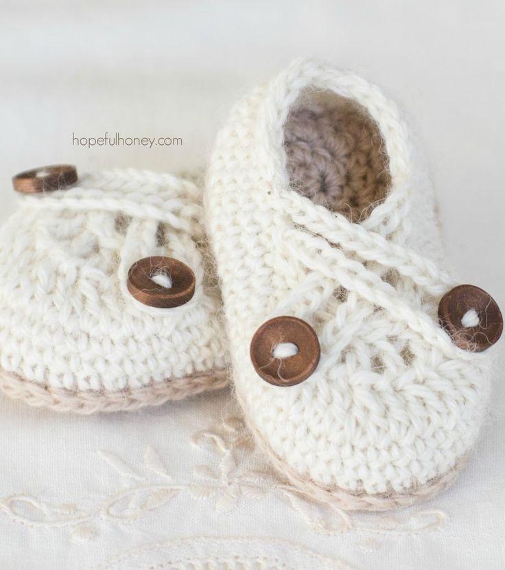 Mejores 8 imágenes de crochet baby boy en Pinterest | Zapatos de ...