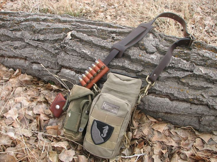 Modified Maxpedition Pack Contains Nalgene Water Bottle