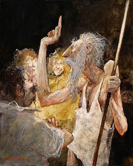 Oeuvres inspirées par Don Quichotte de Cervantès L'Imprécation