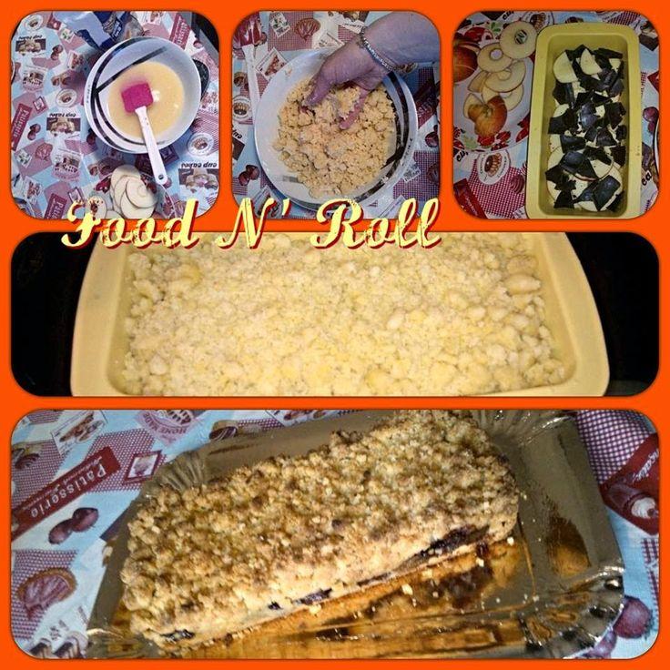 FOOD N' ROLL   ......................   il blog   ...: TORTA BRICIOLINA...