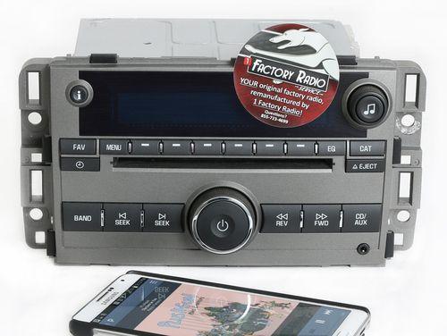 Reman and Bluetooth Mod SERVICE for 2013-2015 Chevy Captiva Sport AM FM CD Radio