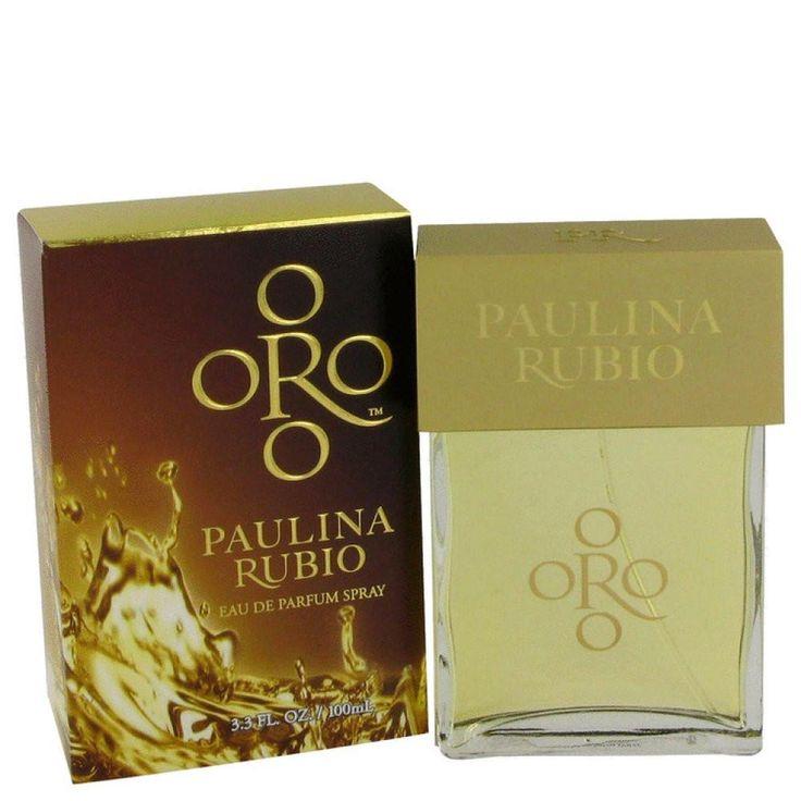 Oro Paulina Rubio By Paulina Rubio Eau De Parfum Spray 3.3 Oz