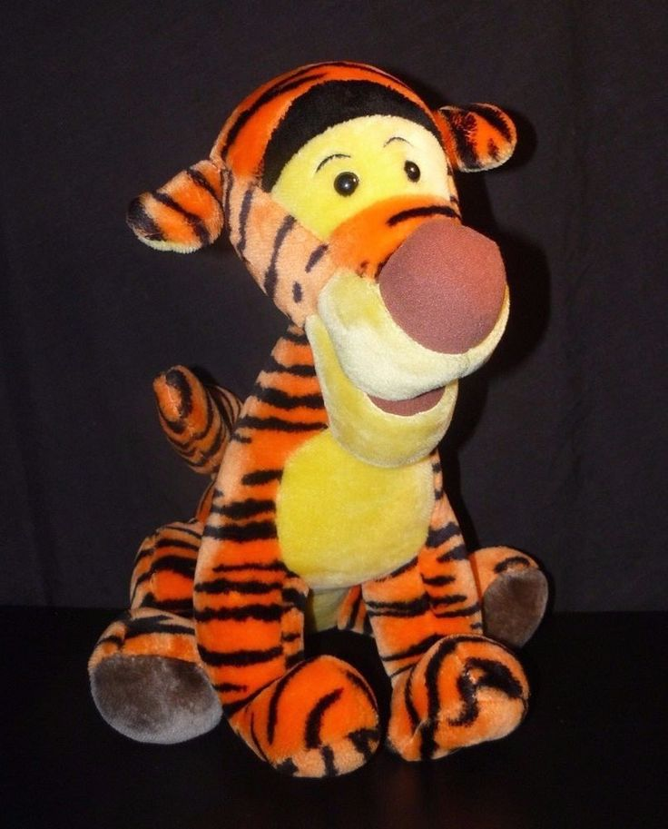 "Big Tigger The Tiger Plush Toy Pooh And Friends Disneyland Walt Disney World 18"" #Disney"