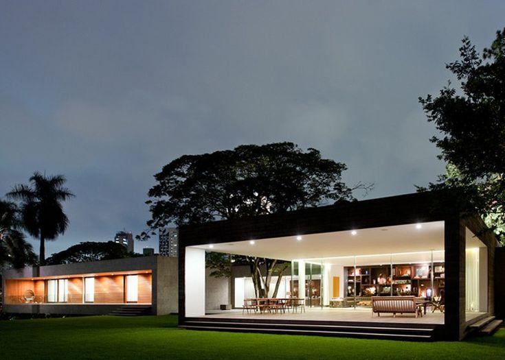 Just beautiful! Grecia House by Isay Weinfeld - #brazil #modernhome #luxury #minimalist