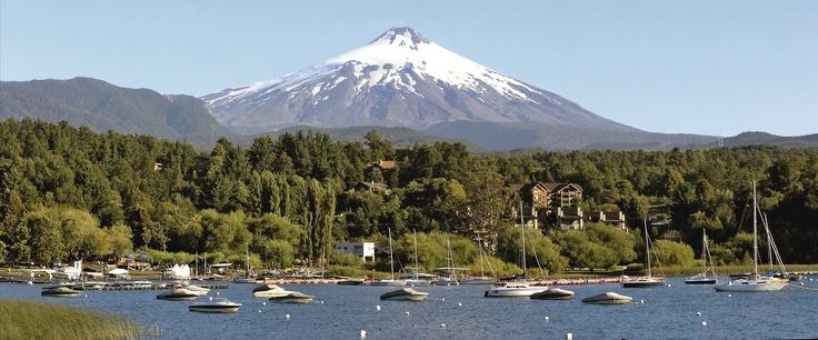 Villarrica Volcano,  Lake District, Chile