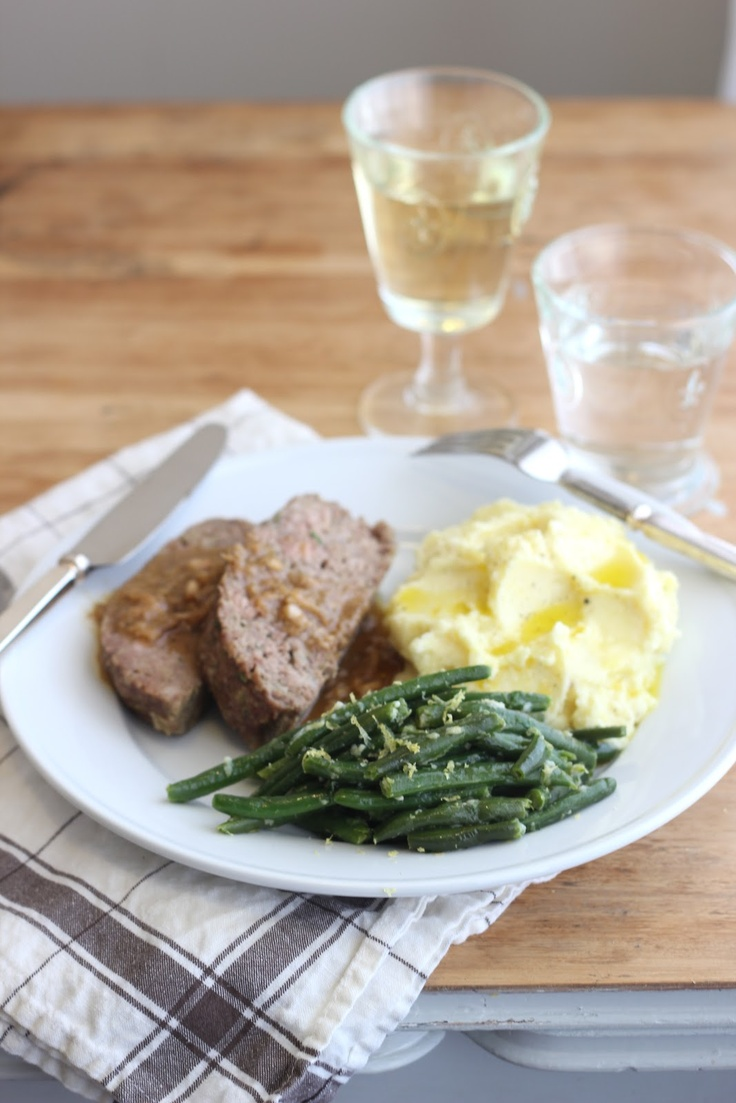 jenny steffens hobick 1770 house meatloaf green beans gremolata the barefoot contessa project - Meatloaf Recipes Ina Garten