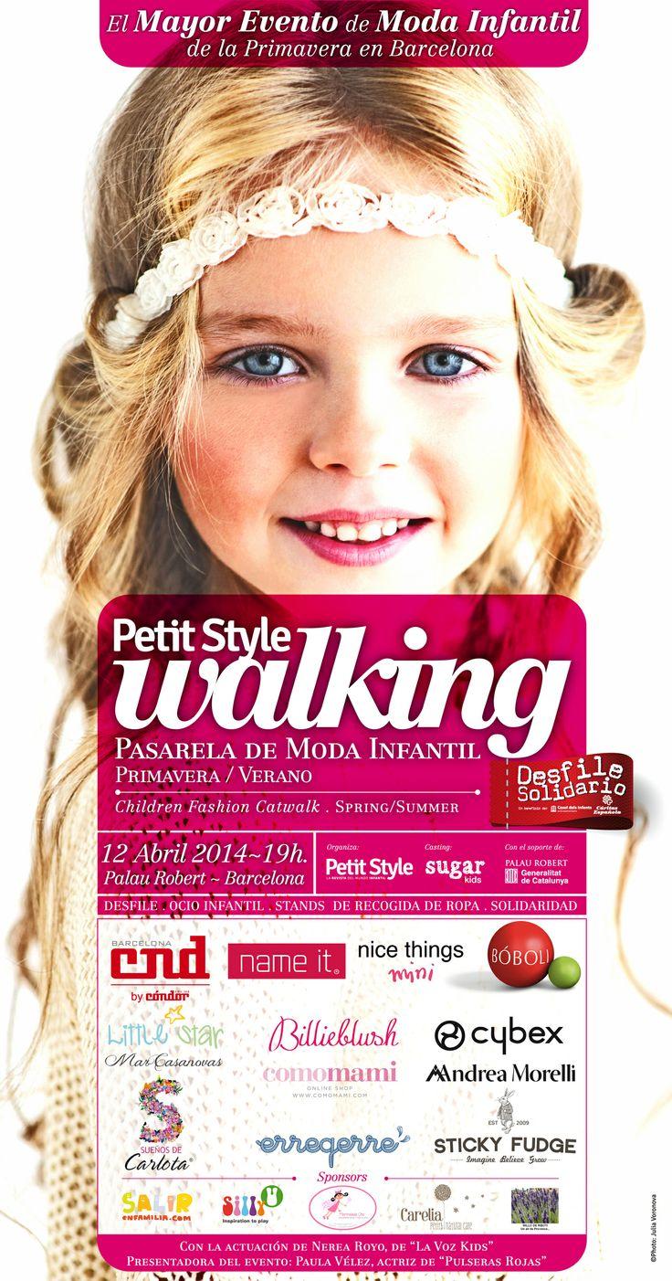 Toda la información sobre nuestro desfile de moda infantil de la primavera, en el blog. http://petitstyle.es/blog/nueva-edicion-de-petit-style-walking-en-barcelona-el-12-de-abril/