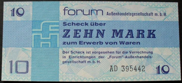 DDR Ros. 370 a 10 Mark Forumscheck 1979 I