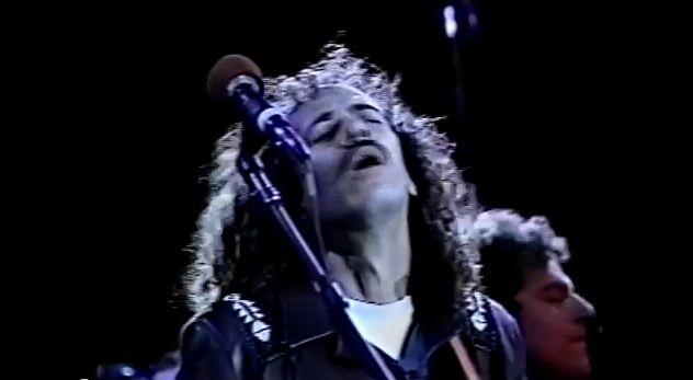 SANTANA Concert 1986 Shoreline Reunion (rare vid)