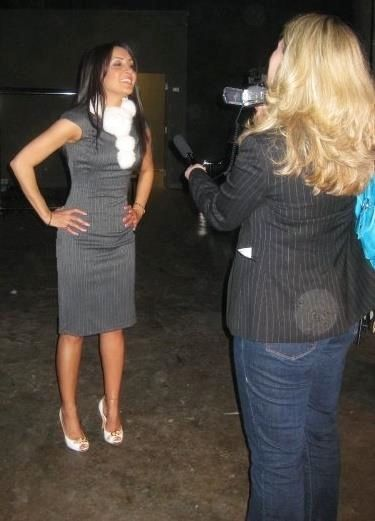 CANADA, Vancouver- Being interviewed by journalist  #PorsciaYeganeh®
