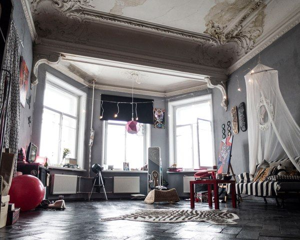 Старый фонд СПБ Санкт-Петербург, коммуналка, разруха, камин, длиннопост