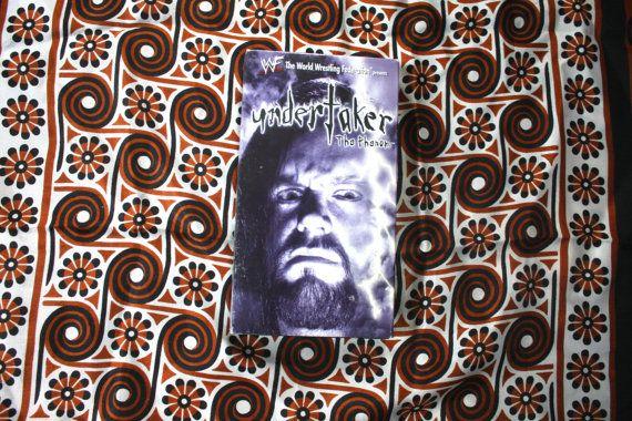 The Undertaker WWF Wwe Wrestling VHS Tape. Rare by ElevatedWeirdo