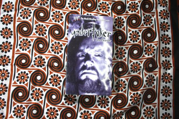 The Undertaker WWF Wwe Wrestling VHS Tape. Rare by ElevatedWeirdo