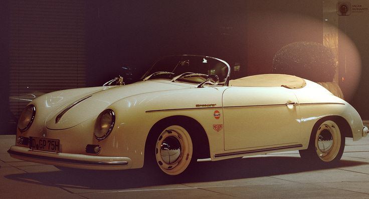 "The Porsche 356 is a luxury sports car which was first produced by an Austrian company Porsche Konstruktionen GesmbH (1948-1949), and then by a German company Dr. Ing. h. c. F. Porsche GmbH (1950-1965). It was Porsche's first production automobile. Earlier cars designed by the Austrian company includes Cisitalia Grand Prix race car, and the Volkswagen Beetle as well as Auto Union Grand Prix cars were designed by the German company- Source: ""Wiki""  I was strolling in my neighborhood when I…"