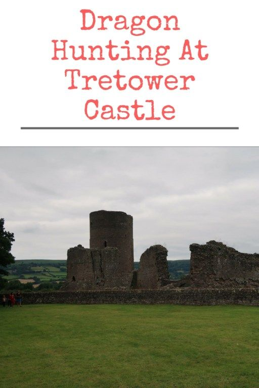 Dragon Hunting At Tretower Castle