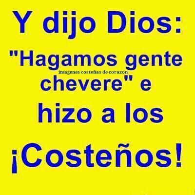 Y Dios dijo......